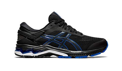 ASICS - Gel-Kayano 26 - Zapatillas de correr para hombre, Azul (Negro/Azul), 42 EU