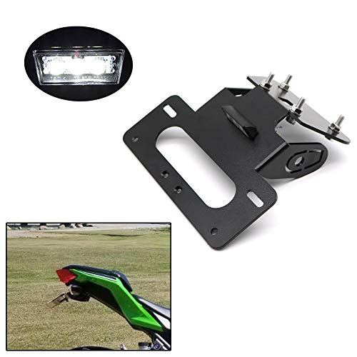with LED License Plate Light Fender Eliminator for HONDA CB650F CBR650F 2014 2015 2016 2017 2018 2019 Xitomer CB650F// CBR650F tail tidy Compatible with OEM//Stock Turn Signal