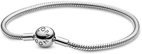 باندورا مجوهرات سلسة لحظات ثعبان سلسلة سحر سوار فضة استرليني