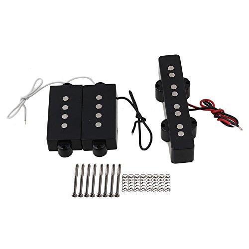 BQLZR JB Bass Bridge Pickup And PB Bass Pickups For 4 String Bass