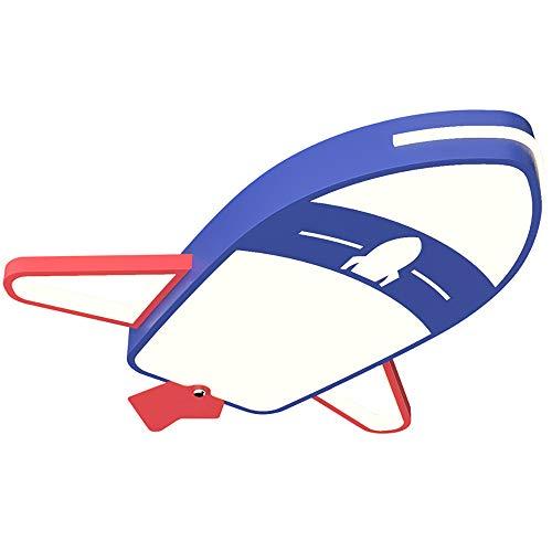 LED 32W Cuarto de los Niños Lámpara de Techo niña niño Plafon de Techo para Lugar de Entretenimiento Jardín de Infancia Creatividad Aeronave Diseño Decoración Luz Pantalla de Acrílico Azul