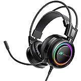 EKSA 7.1 USB Gaming Headset - Surround Stereo...