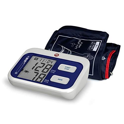Pic Solution - Tensiómetro de brazo Cardio Simple, con memorias para 2 usuarios y media de las 3 últimas mediciones, color azul