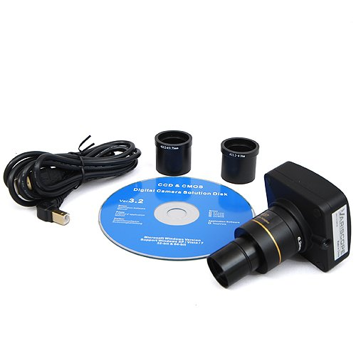 Variscope 1.3 MP USB2.0 Microscope Digital Camera and Software, Compatible with Windows XP/Vista/8 and Mac OS 10.6 & Up
