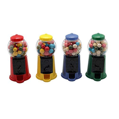 Mini Kaugummi - Automat gefüllt und Nachfüllbar 2 Stück x 40 Gramm Geburtstag Party Kinder