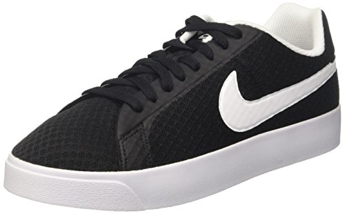 Nike Mens Court Royale Lw Txt Sneakers Black BlackWhite 7 UK