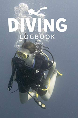 Diving Logbook: A Scuba diving log book and gift for scuba divers, 100 pages | record and track up to 198 dives