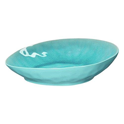ASA Teller, Porzellan, Turquoise, 25x23x6 cm