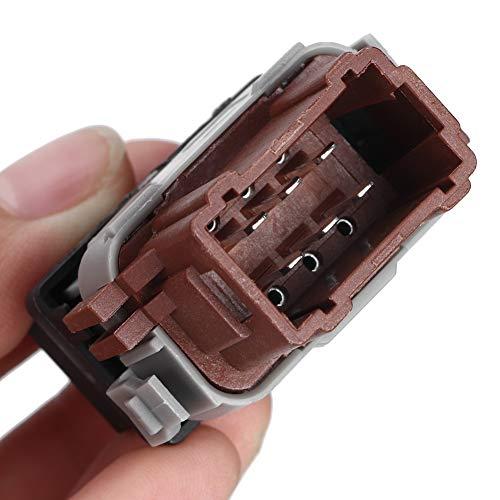 Botón de ventanilla eléctrica, interruptor de encendido V suave y sin rebabas para tienda de automóviles