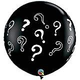 Qualatex 3' QUESTION Marks Around (2/Bag)