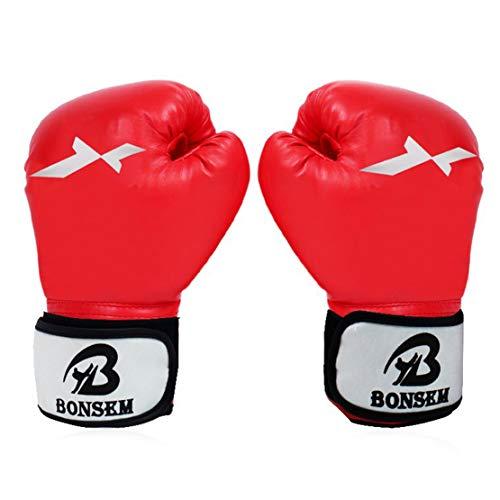 HiXB Guantes de Boxeo Adecuados para Adultos Entrenamiento d