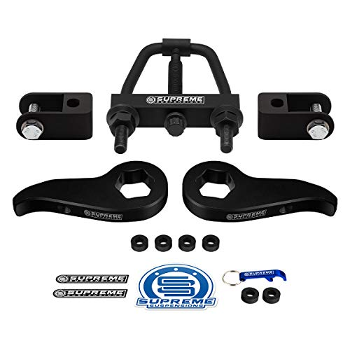 Supreme Suspensions - Front Leveling Kit for Chevy Silverado/GMC Sierra 2500HD 3500HD 1-3