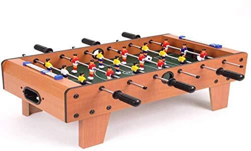 ZGS Eishockey Tabelle Fußball Kickertisch Billardtisch Tischtennistisch Tisch Air-Hockey-Spiel for Kinder/Erwachsene/Familie Kindertisch Fußball Leichten und mobiles Party-Spiel Halb Air Hockey Fo