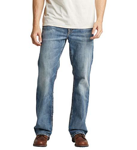 Silver Jeans Co. Men's Craig Easy Fit Bootcut Jean, Medium Vintage, 34W X 32L