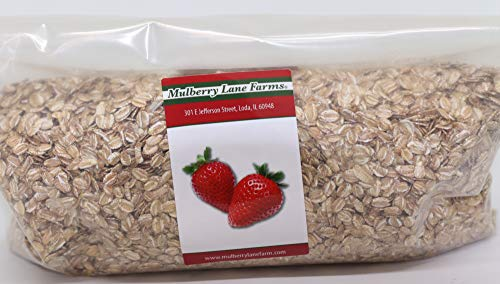 Rolled Rye Flakes 2 Pounds All Natural, Non-GMO