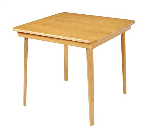 Stakmore Company, Inc. 32' Square Folding Table Finish: Oak