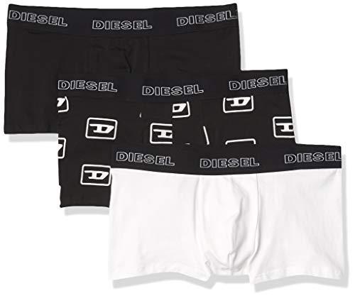 Diesel Herren UMBX-damienthreepack Boxer-Shorts Retroshorts, Schwarz/Weiß/Schwarz, XXL