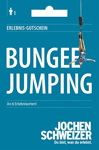 Jochen Schweizer Erlebnis-Gutschein 'Bungee Jumping', 6 Erlebnisorte, Geschenkidee mit Adrenalin