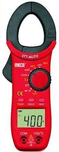 Meco MC_27T Auto 400A AC Auto Ranging 3½ Digit 2000 Counts Temp Digital Clampmeter