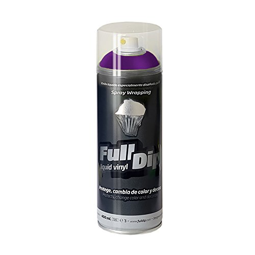 FullDip FLD0208 Vinilo Líquido, Violeta Metalizado, 400 ml