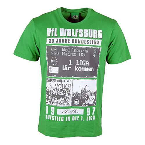 VfL Wolfsburg T-Shirt 20 Jahre Bundesliga Collage (XL)