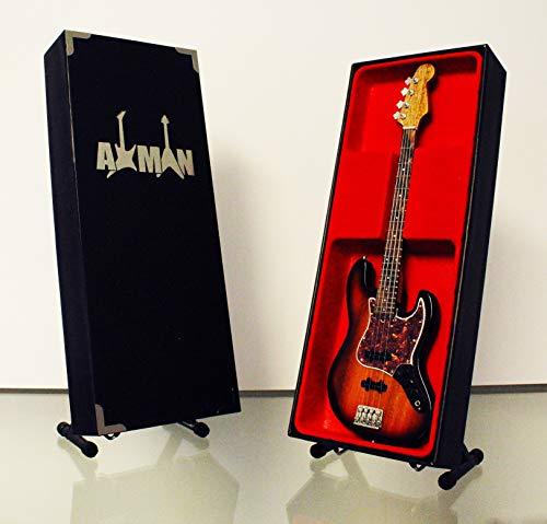Axman Noel Redding (Jimi Hendrix Experience): Fender Jazz – Réplica miniatura de guitarra