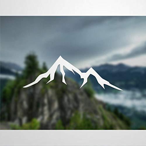 DONL9BAUER - Vinilo adhesivo de montaña para coche, diseño simple de la naturaleza