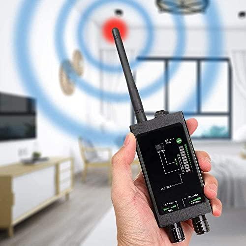 AJIC Detector de Errores actualizado Anti espía Detector RF Detector portátil Anti rastreo de Detector magnético Fuerte para GPS Dispositivo Escondido de la cámara de la cámara escondida