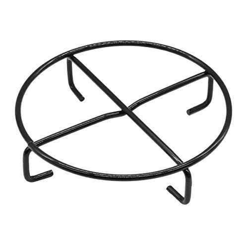 SANTOS Dutch Oven Untersetzer - Durchmesser 20 cm - Emaillierter Stahl - Dutch Oven Feuertopf Untergestell - einsetzbar, Petromax, Lodge, Skeppshult