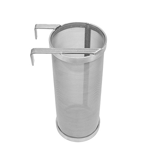4 x 10in Hop Spider 300 Micron Mesh Stainless Steel Hop Filter Strainer for Home Beer Brewing Kettle