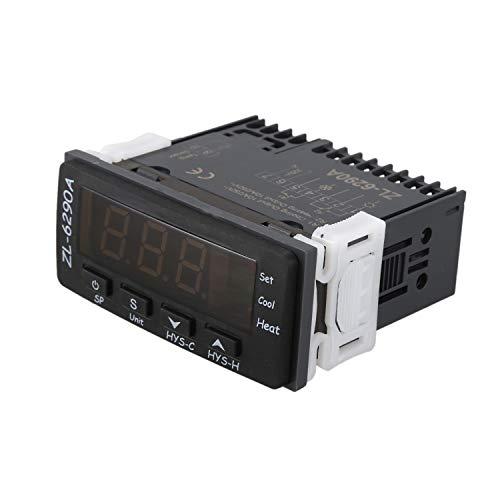 Gesh ZL-6290A Dual 10A Salida Fahrenheit Celsius Termostato Controlador Regulador de Temperatura Termostato