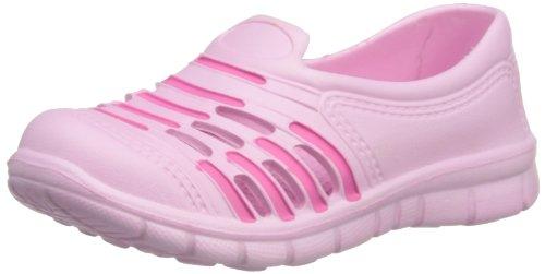 Playshoes Unisex-Kinder Eva - Clog Pantoletten, Rosa (Rose/pink 171), 18/19 EU