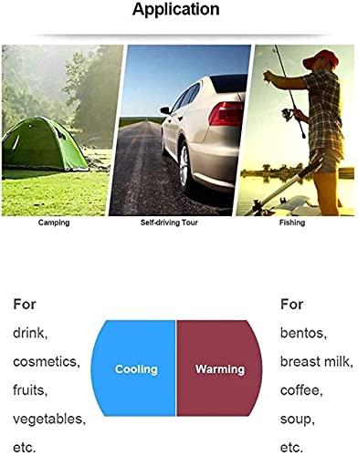 Refrigerador de 26 l mini nevera congelador 12 V 24 V coche congelador refrigerador portátil coche nevera nevera nevera ideal para acampar viajes picnic playa auto