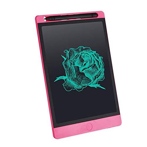 KDXBCAYKI 10 inch LCD Draagbaar LCD Notebook voor kinderen Energia Licht whiteboard voor kantoor Notebook Bozze WordPad Roze.