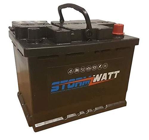 Stormwatt autoaccu 60AH L2 12V koppeling 480 A voor alle gebruikte voertuigtypen