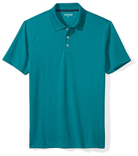 Amazon Essentials Men's Slim-Fit Quick-Dry Golf Polo Shirt, Ink Blue, X-Large