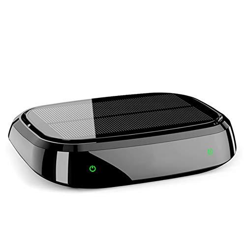NZHK Diseño Purificador De Aire Solar del Coche Mini USB Portátil con Batería para El Coche