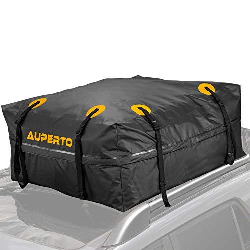AUPERTO - Bolsa de almacenamiento impermeable para techo de camión, todoterreno, lona, Jeep, 15 pies cúbicos