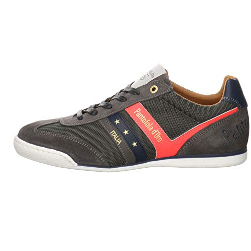 Pantofola d'Oro Baskets Low Vasto N Uomo Low pour homme - Gris - Grey 10211040 10c, 47 EU