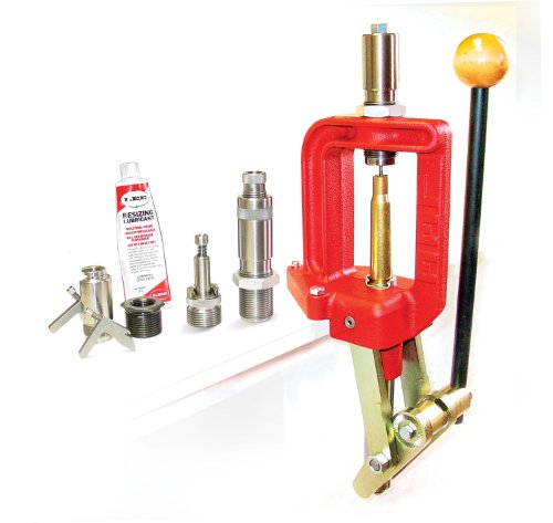 90859 Lee Precision, Single Stage Press, Classic Cast .50 Bmg Kit,Red