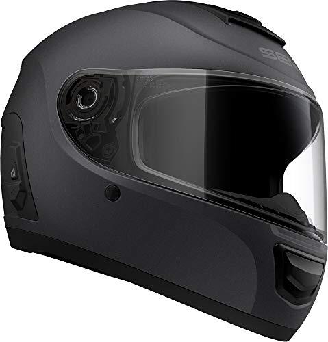 ScorpionExo Covert Unisex-Adult Half-Size-Style Matte Black Helmet (Matte Black)