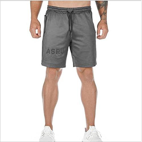 Pantaloncini da Uomo Shorts Men Running Quick Dry Workout BodybuildingSpandex Shorts Sports JoggingPocket Tennis Training Shor