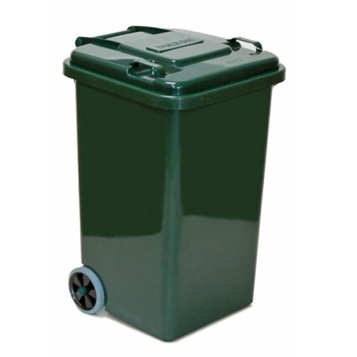 気取らない認可保持PLASTIC TRASH CAN 65L(グリーン)