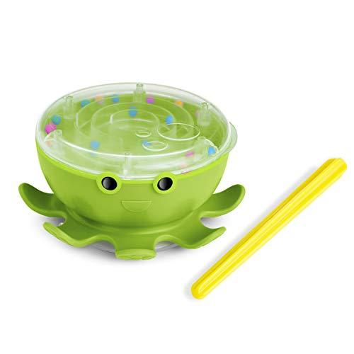 Munchkin Octodrum 3-in-1 Musical Bath Toy, Green