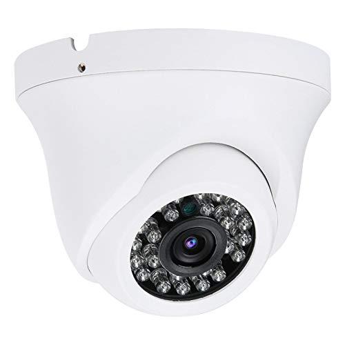 FOLOSAFENAR 4 en 1 Domo 5mp cámara IP Monitor de vigilancia HD Seguridad Interior Impermeable visión Nocturna(1080P)