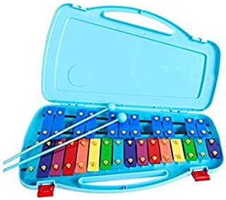 SAMICK 27key Student Xylophone Instrument with case and mallets Blue color