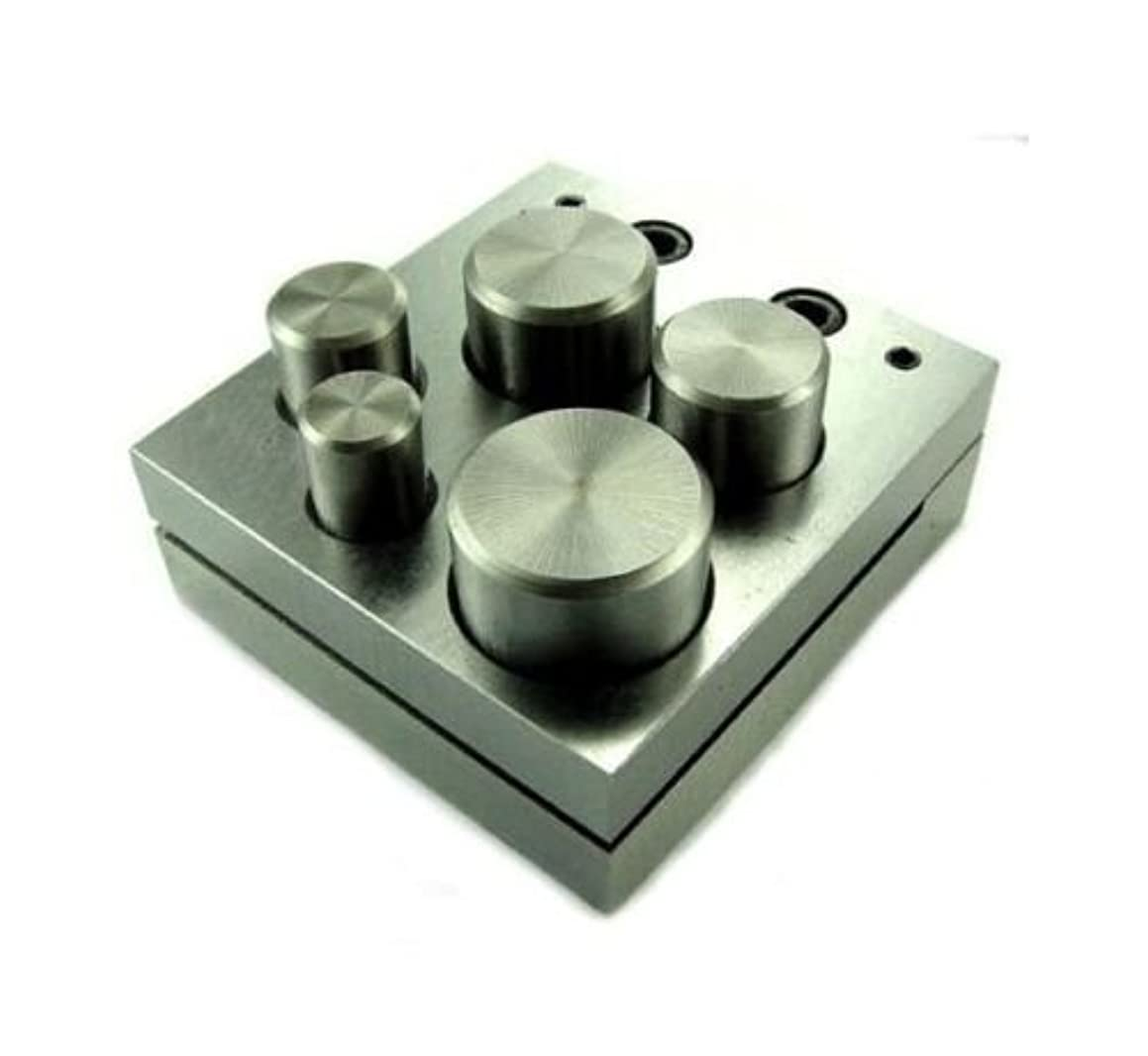 5pc Disc Cutter Punches Jewelry Metal up to 1inch Dc05