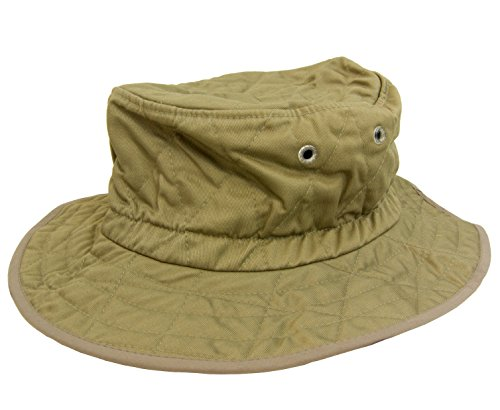 Techniche Hyperkewl Ranger Hat with Evaporative Cooling, Kaki, L/XL