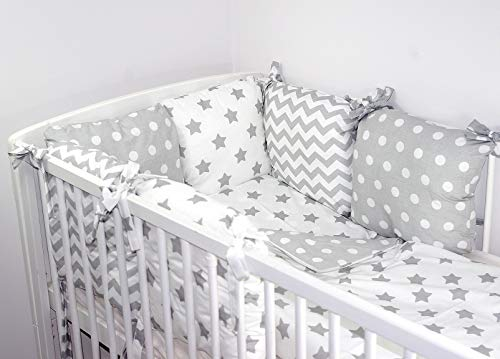 Baby's Comfort Cushion bumper made of 6 pillows (3 b)