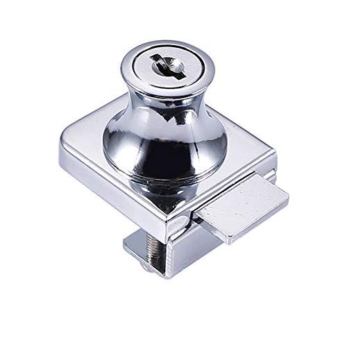 Klinkamz Cerradura de aleación de zinc para vitrina de cristal de 5-8...